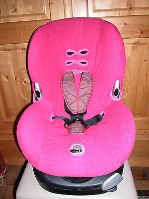Sommerbezug Schonbezug Frottee für Maxi-cosi Priori XP und Priorifix NEU pink online kaufen