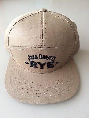 Jack Daniels RYE Snapback ball cap See Pics Rare JD Baseball Hat NEW  for sale  Huntington Beach