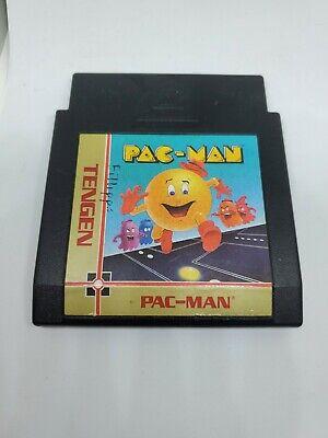 Pac-Man (Tengen) (Nintendo Entertainment System) Free Shipping Pacman Black Cart