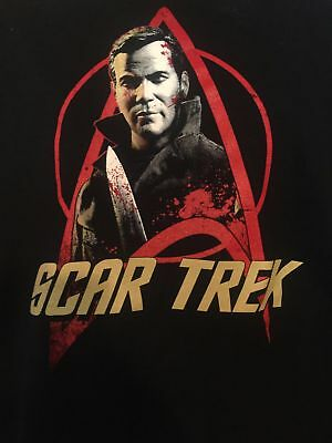 Scar Trek T-shirt Halloween movie star trek 1978 kirk myers haddonfield - Haddonfield Halloween 1978