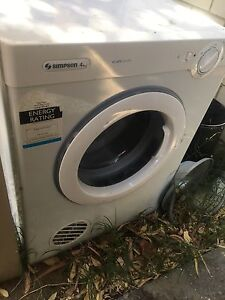 Free dryer Balga Stirling Area Preview