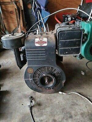 Vintage Briggs Stratton Engine 9 Hp Gear Reduction Model 233451  Runs Good
