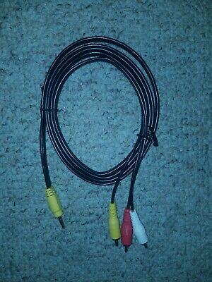 6ft 3.5mm Jack Composite Audio/Video Cable Wire 6 Composite Audio