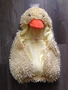 3 to 6 month duck costume