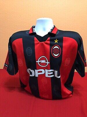 PAOLO MALDINI  Milan AC  ITALY SERIE A CENTENARY XL 1999 ORIGINAL JERSEY SHIRT