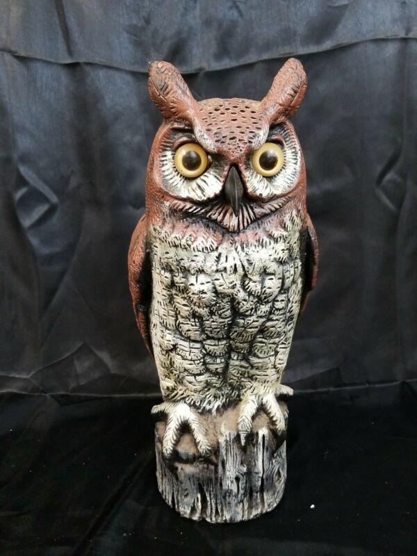 "VTG HALLOWEEN 16"" BLOWMOLD OWL 1990 DALEN USA"