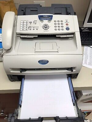 Faxcopy Phone Brother Intellifax 2820 Laser Fax Machine With 2 Toners Gret Buy