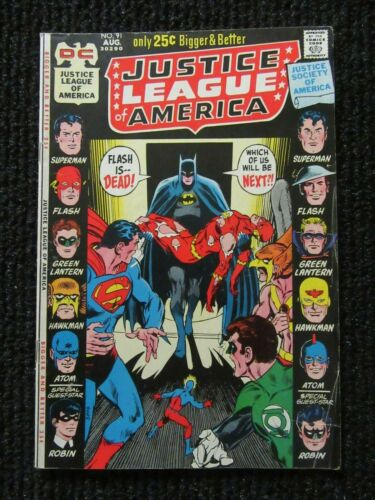 Justice League Of America #91  Aug 1971  Tight Complete Copy!!  See Pics!!