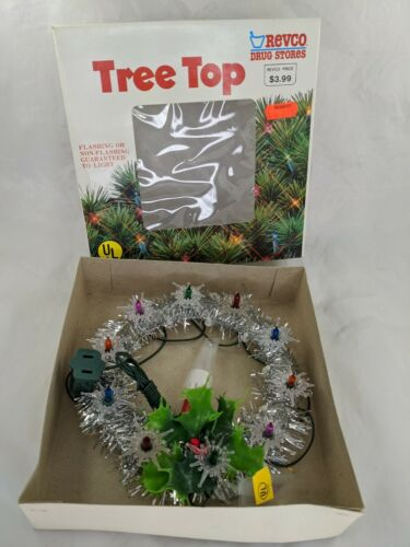 Lighted Tree Top Christmas Decoration Toyo Industrial Revco