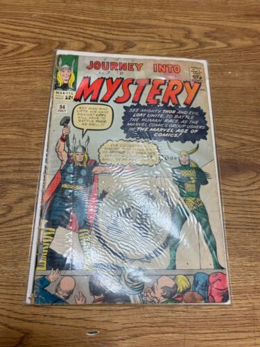 Journey Into Mystery 94 Kirby Cover 1963 Marvel Comics (j#770)