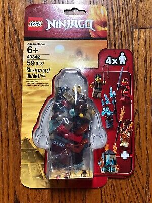 Lego Ninjago Minifigure Pack New 40342 59 Pieces Building Toy Htf
