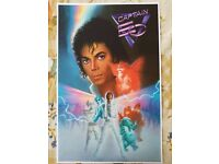 EPCOT/'S CAPTAIN EO B2G1 FREE!! DISNEY COLLECTOR POSTER 4 DIFFERENT SIZES
