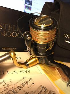 Shimano stella sw4000 xg reel shimano