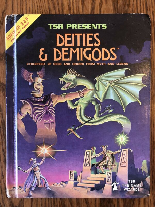 DEITIES & DEMIGODS WITH CTHULHU! 1st Edition Dungeons & Dragons VG+