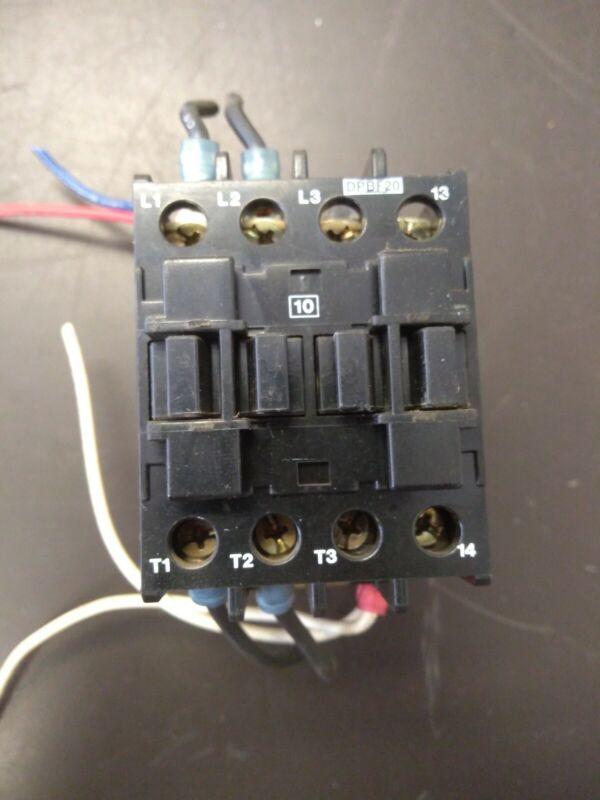 Taylor Ice Cream Machine compressor Relay LOVATO DPBF20 CONTACTOR 1ph-3ph