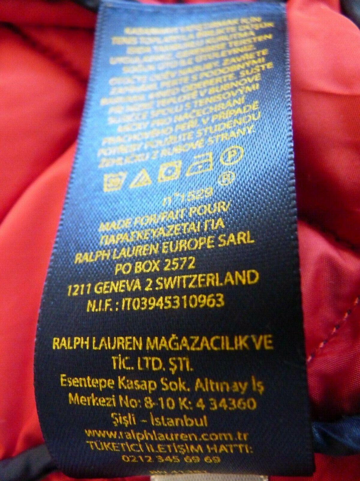 Blouson matelassé ralph lauren 18-20 (xl)