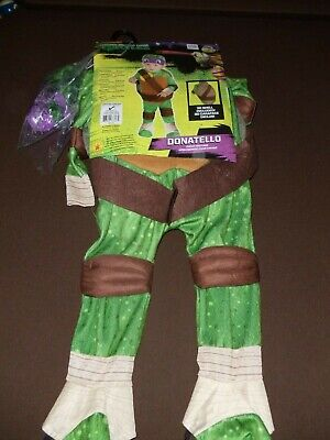 4 Year Old Boy Costumes (Donatello TMNT * Halloween Costume * Small, Size 2-4 * For 1-2 Years Old)