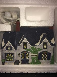 Dicken's Village Series Handpainted Porcelain Houses