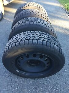 """205/60R16 92T """"Winter claw"""" winter tires on RIMS"""