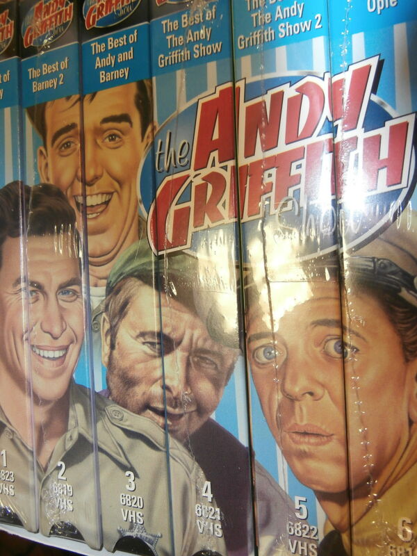"""VHS: """"The Andy Griffith Show"""" Six Pack Box Set"""