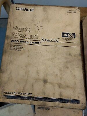 Caterpillar Cat 950g Wheel Loader Parts Manual