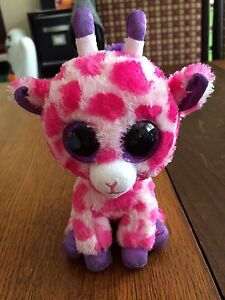 Twigs the pink giraffe Beanie Boo