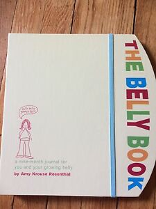 The Belly Book - pregnancy journal