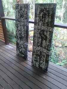 SET OF TWO MODERN ARTWORKS Buderim Maroochydore Area Preview