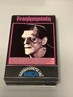 Beta Max Tape FRANKENSTEIN  NOT VHS Horror Classic