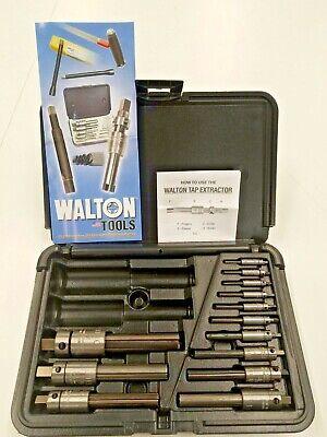 Walton 18013 Tap Extractor Set Sizes 4 Thru 34  A200