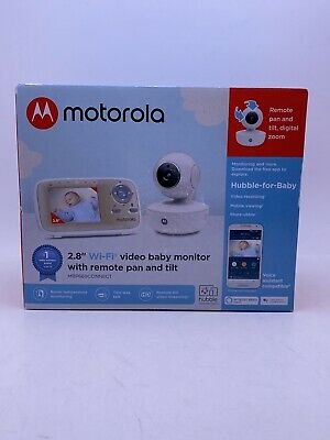 "Motorola MBP669CONNECT Wi-Fi Video Baby Monitor Remote Pan & Tilt 2.8"" Screen"