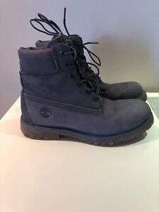 Timberland grey blue winter boots size 7