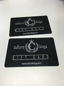 $150 Culture Kings gift card Sydney City Inner Sydney Preview