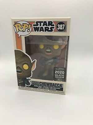 FUNKO POP! - Star Wars-Concept Series-Chewbacca - 2020 Galactic Convention