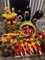 Fruit arrangements and other healthy choices