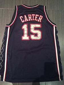 Adidas Vince Carter New Jersey Nets Swingman Basketball Jersey