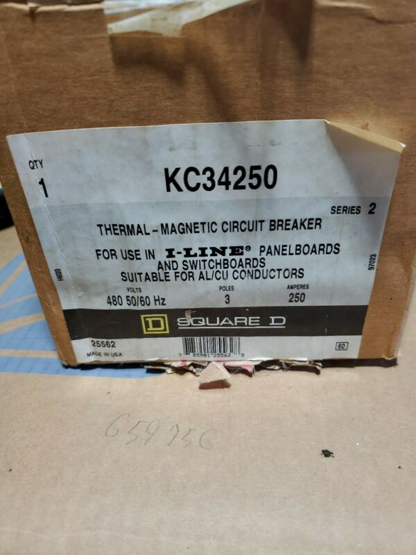 KC34250 SQUARE D OBSOLETE 250amp BRAND NEW