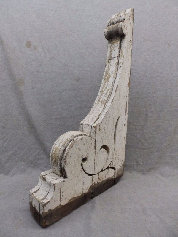 Individual Antique Corbel Bracket Gingerbread Shabby Cottage Vtg Chic 156-17R