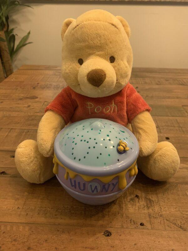 Disney Baby Pooh Dreamy Stars Soother Plush Nightlight Plush Bee, Gift, Baby Rm