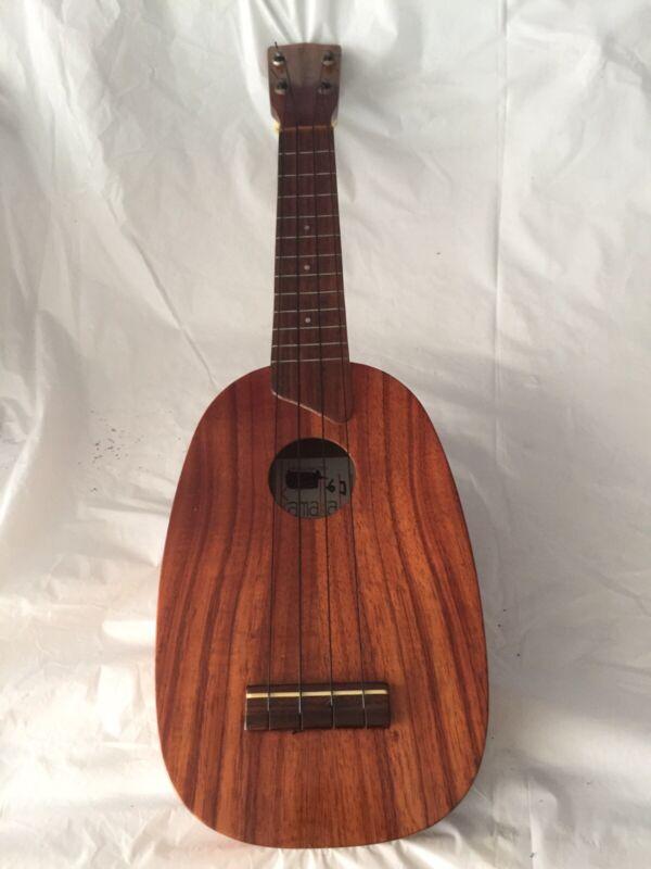 vintage kamaka ukulele Pinapple White Label