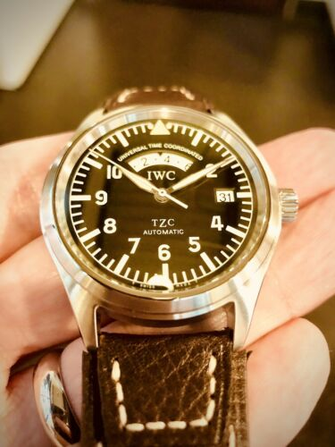 IWC Pilot UTC TZC Ref. 3251 Automatic 39mm Men's Watch Die Fliegeruhr - watch picture 1