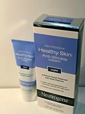 NEUTROGENA HEALTHY SKIN ANTI-WRINKLE CREAM NIGHT A RETINOL FACIAL TREATMENT ()