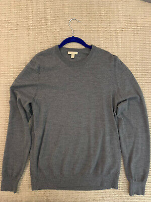 Burberry Mens Elbow Patch Sweater - L