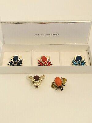 5 Joanna Buchanan Bug Insect Clips Ornaments