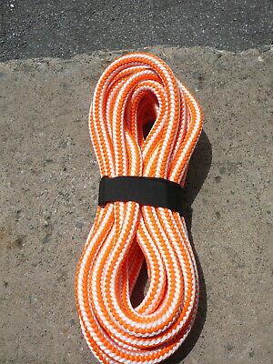 New England 16 Strand Hi-vee Arborist Rope Tree Climbing Line 12 X 30 Orange