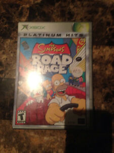 Simpsons road rage for original xbox