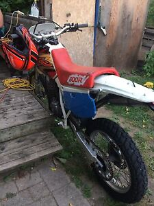 1991 Xr600r blown