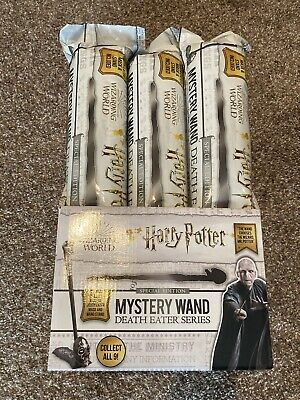Harry Potter Mystery Wand Special Edition Death Eater Series Full Box Of 9 Wands