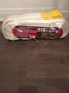 Heavy recovery tow straps - brand new