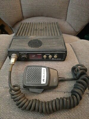 Midland 70-1336b Mobile Radio 150-174 Mhz Untested As Is